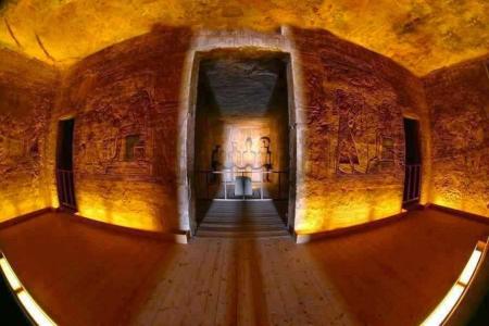 Abu Simbel Sun Alignment