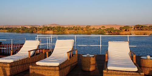 SS Sudan Nile Cruise Sundeck