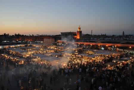 Piazza Djemaa El Fna a Marrakech