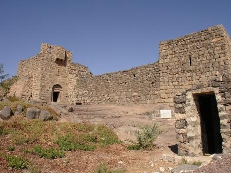 ヨルダンの砂漠の城