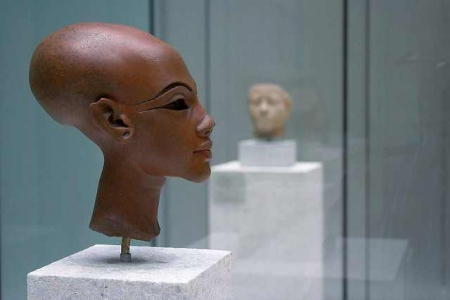 A Bust of an Unknown Amarna Princess in Berlin's Museum