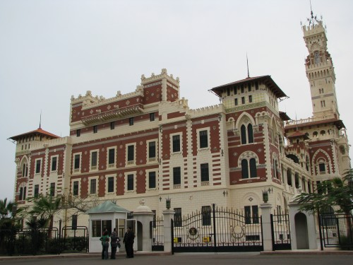 Le Palais de Montazah, Alexandrie
