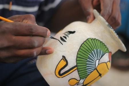 Alabaster Handicrafts in Luxor