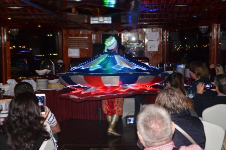 Tanoura Dance In Dhow Cruise
