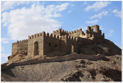 Salah El Din Fortress on The Island on The Pharaoh, Red Sea