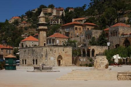 The Midan of Deir Al-Kamar