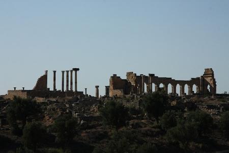 北アフリカ最大のヴォルビリスローマ遺跡