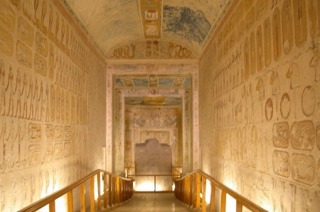 Inside Tomb of Ramesses IV