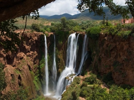 The Ouzoud Waterfalls
