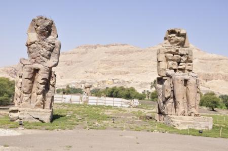 Colossi statues of Memnon in Luxor