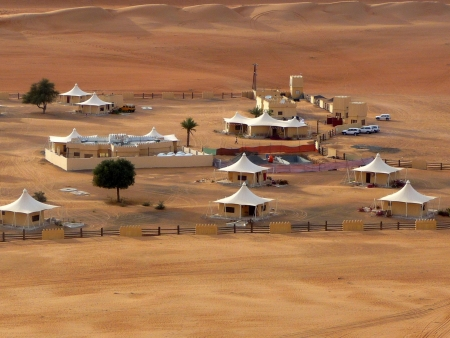 Camping in Wahiba Sands