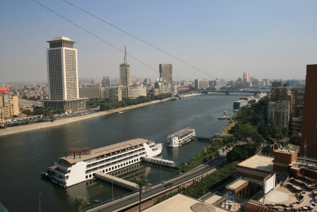 The Nile Maxim Restaurant, Cairo