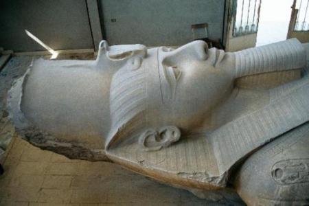 Ramses II statue, Memphis