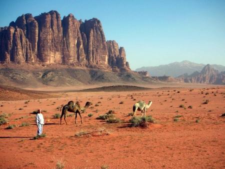 The awesome Wadi Rum in Jordan