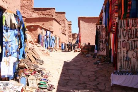 Moroccan Desert Roads