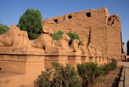 Avenida de los dromos, Luxor