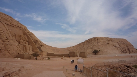 The Two Temples at Abu Simbel
