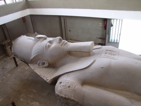 The Colossal Statue of Rameses II in Memphis