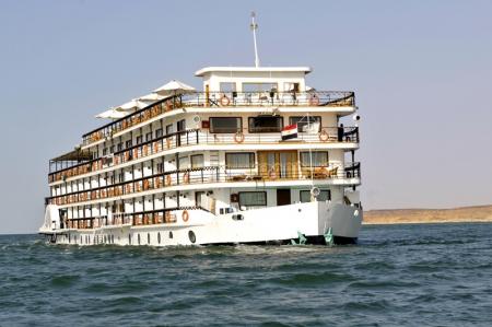 MS Eugenie Lake Nasser