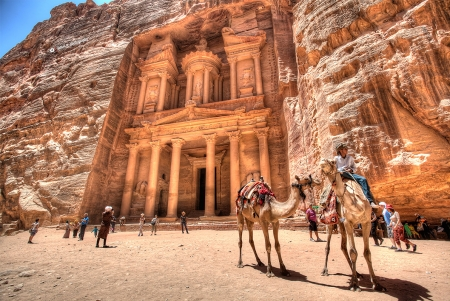 Il Tesoro (Al-Khazneh) a Petra