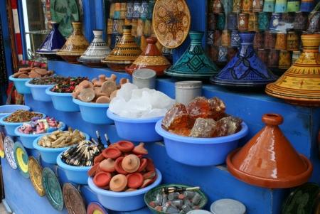 Spezie di Un Mercato di Essaouira