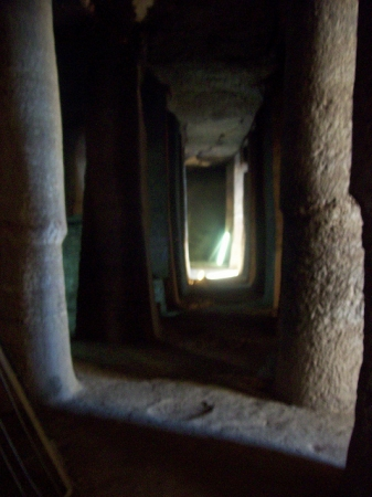 The Tombs of the Nobles from inside