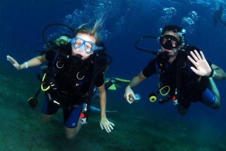 Diving at Marsa Alam, Red Sea