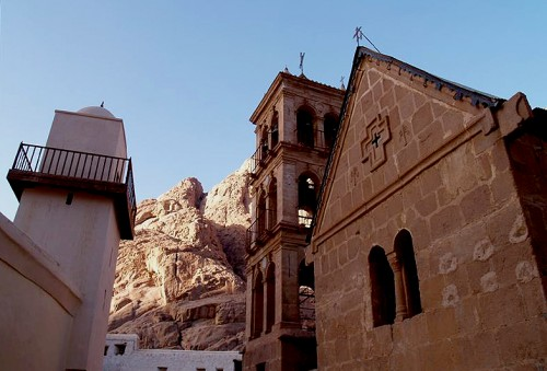 Saint Catherine in the Sinai of Egypt