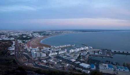 El mar en Agadir