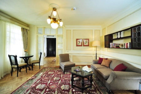 Suite Living Area