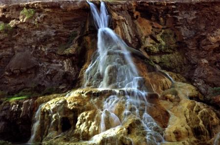 Ma'in Hot Springs in Jordan