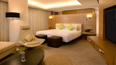 Le Meridien Cairo Airport Guest Room