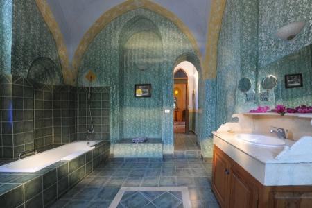 Bath Room Design inside Al Moudira Hotel