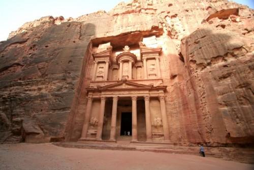 The Treasury in Petra (Known as El Khaznah)