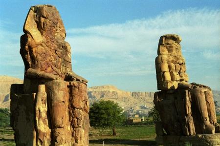 Memnon Colossal Statues