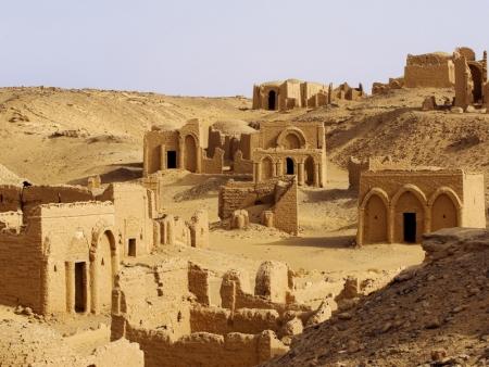 Necrópolis de Bagawat, Kharga