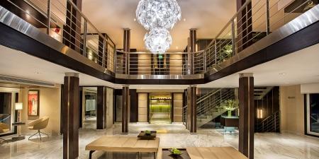 Oberoi Philae Luxury Nile Cruise Lobby