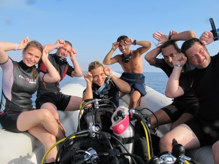 Scuba Diving to Ras Mohamed