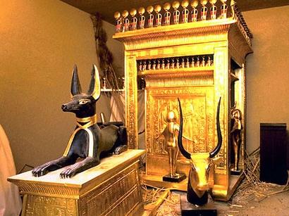 Egyptian Museum, The Treasures of Tut Ankh Amen Tomb