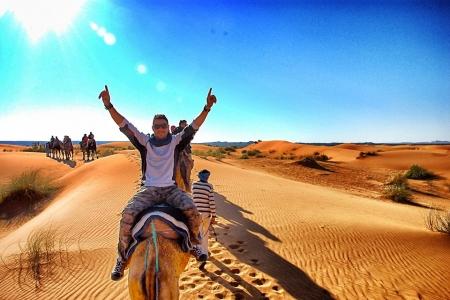 Camel Riding in Amazing Merzouga