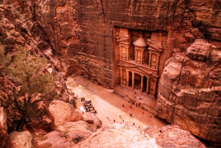 The Treasury of Petra (al-Khazneh) info