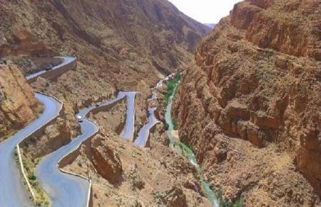 La ruta de las Montañas de Atlas.