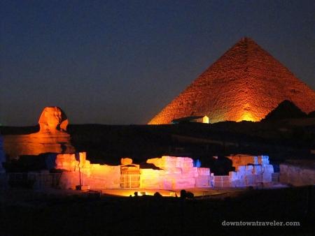 Sound and Light Show at Giza Pyramids