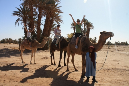 Camel Riding in Ouarzazate City