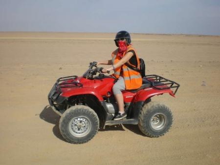Bedouin Safari in Makadi by ATV Quad Bike