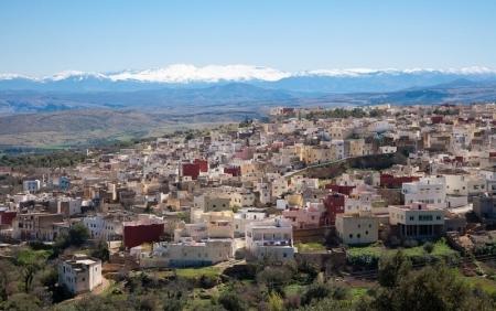 Città di Bhalil, Marocco