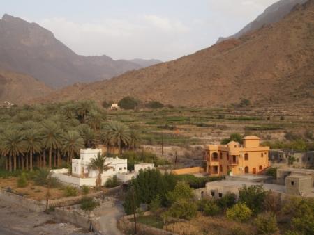 Wadi Bani Kharous of Oman