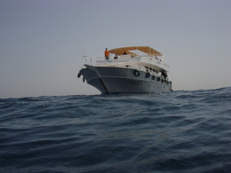 Diving Boat, Sharm
