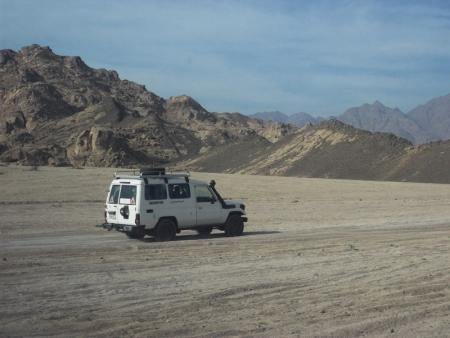 Abu Simbel Safari to Shoukan Area