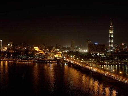 Cairo View By Night